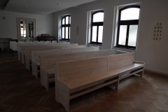 Interiér modlitebny