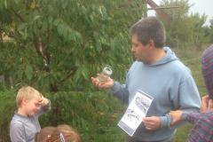 Tajemství zahrady - eko-biblická akce pro děti na jedné třebenické zahradě