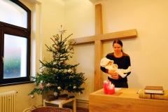 Vánoční dětská minihra (24.12. 2017, foto Tereza Pelánová)